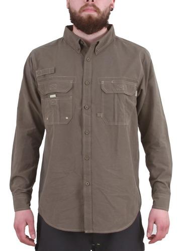 camisa duck dry outdoors verde