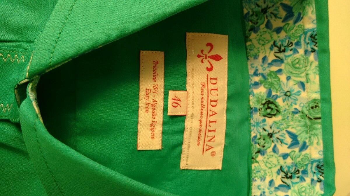 09542efe7d Camisa Dudalina Feminina Com Etiqueta Original(nova)t 46 - R  150