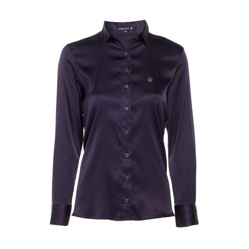 camisa dudalina seda (feminina)