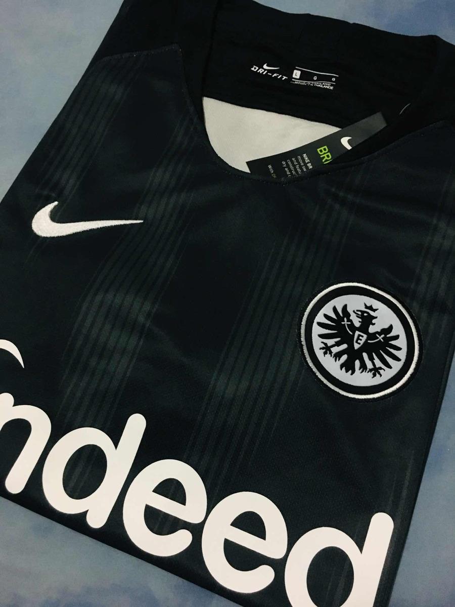7880ea2624 Camisa Eintracht Frankfurt 2018/19 Home (tam G) - R$ 139,99 em ...