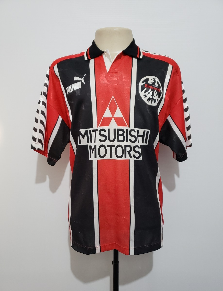 e531de008 Camisa Eintracht Frankfurt Alemanha 1996 Home Puma Tam G gg - R  139 ...