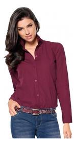 comprar popular 6c1e3 f3911 Camisa Elastizada Lisa Dama Ideal Bordar Empresas X Mayor