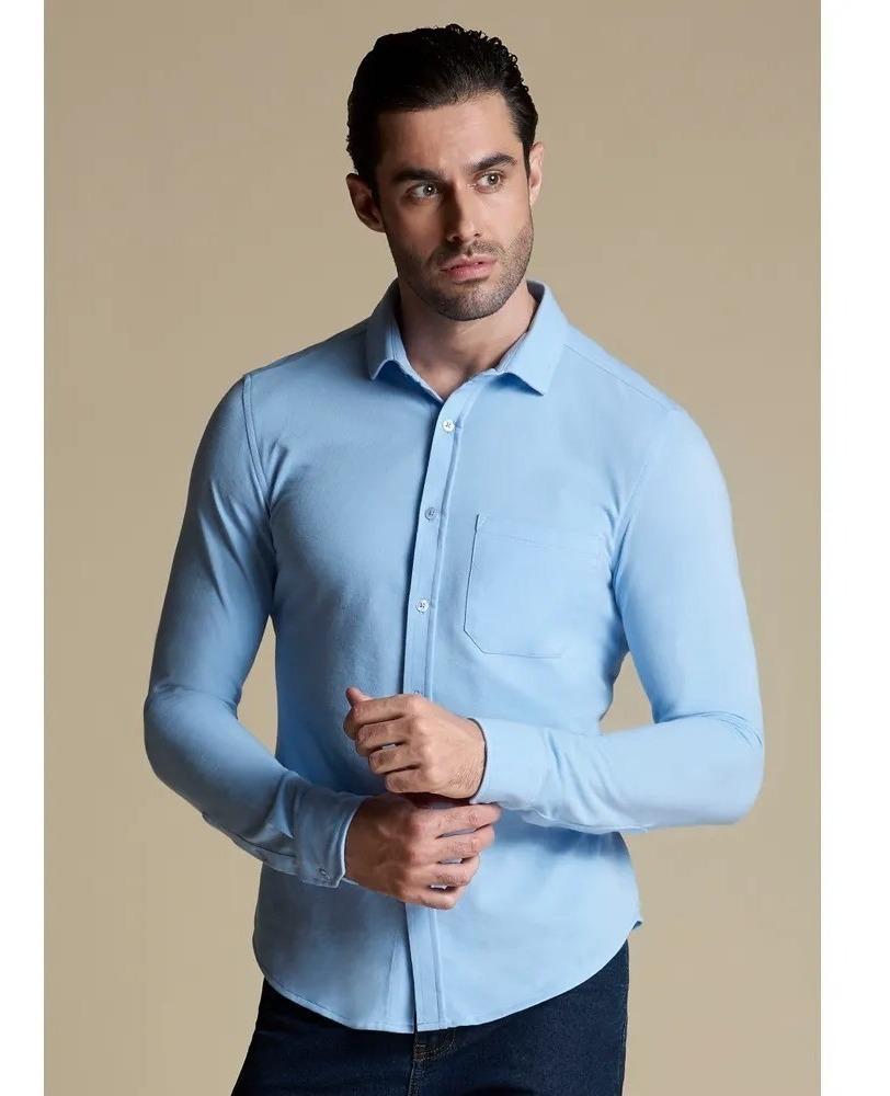 Camisa Elegante Hombre Vestir Juvenil Divertido Cool 1388251