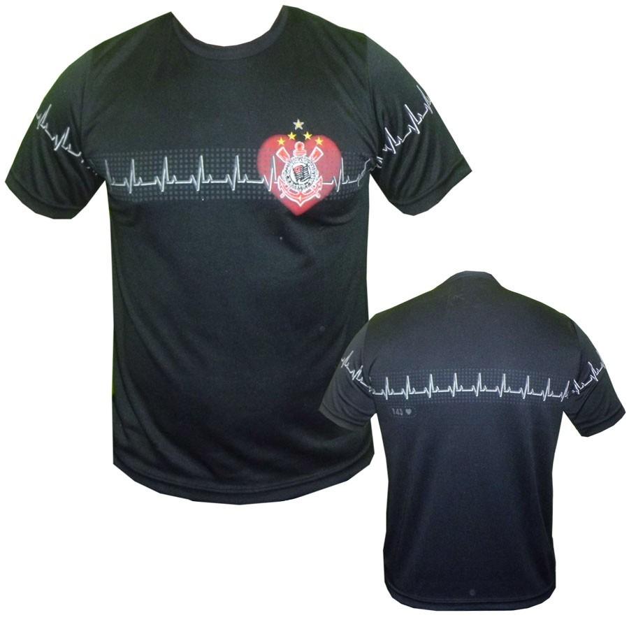 camisa eletro do corinthians. Carregando zoom. da30f2decae7a