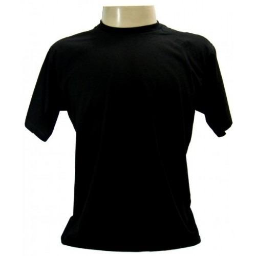 camisa em malha pv fria lisa promocional kit com 15 unidades