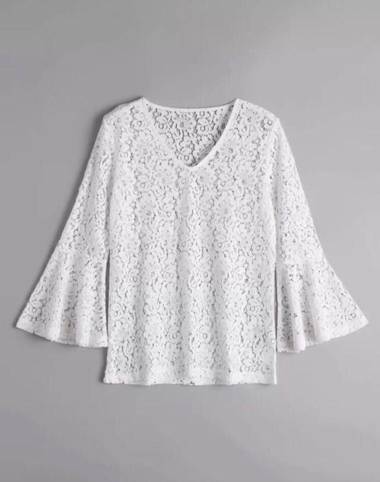 Blusa Encaje Zara Blusas de Mujer Nuevo en Mercado Libre