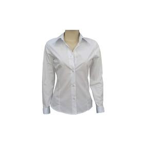 a9bd1d990 Camisa Entallada Dama Lisa Uniforme O Con Logo Por Mayor