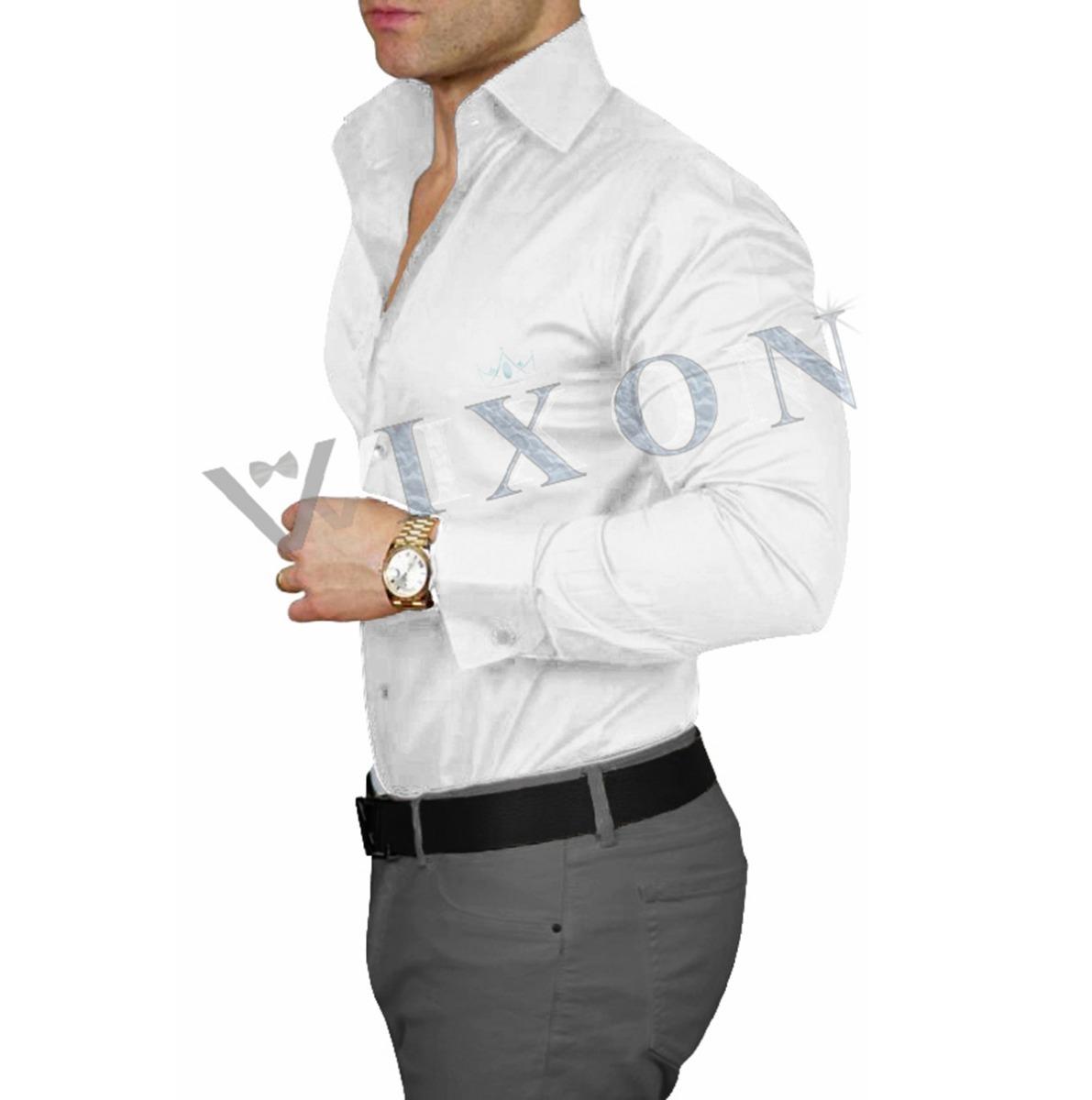 Vixon Camisa Entallada Pantalon Hombre Gabardina Arma Tu Combo 4 990 00