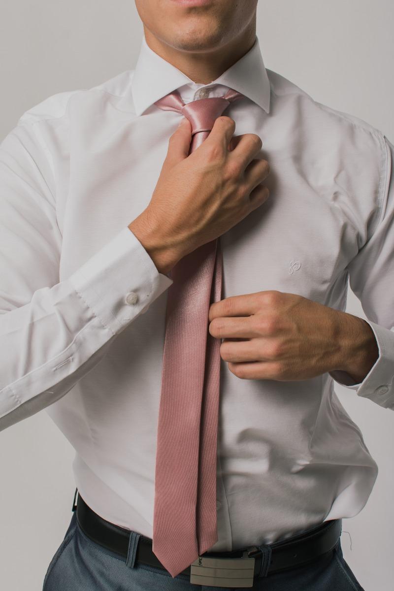 abb59f9969d42 Camisa Entallada Vestir Algodón -   699