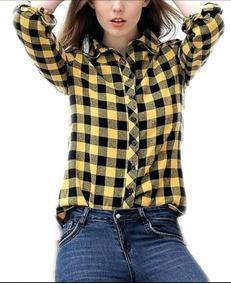 c662cb248d Camisa A Cuadros Amarilla - Ropa y Accesorios en Mercado Libre Argentina