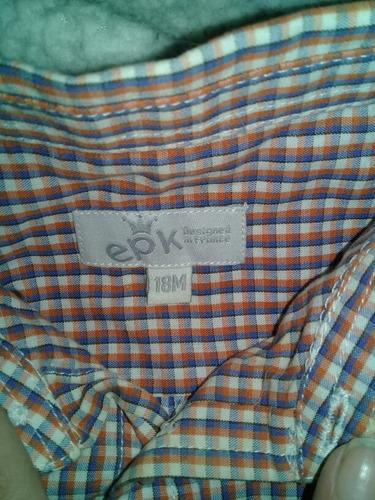 camisa epk 18 meses