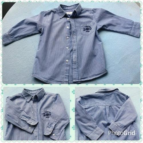 camisa epk manga larga niño talla 3