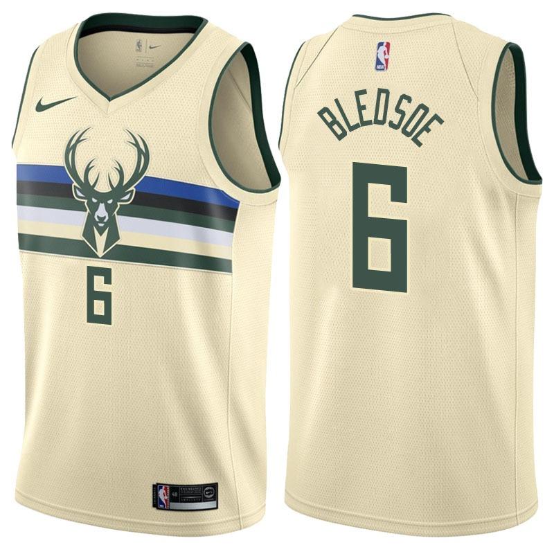 7771c8760 Camisa Eric Bledsoe Milwaukee Bucks Oficial E Frete Gratis - R  180 ...