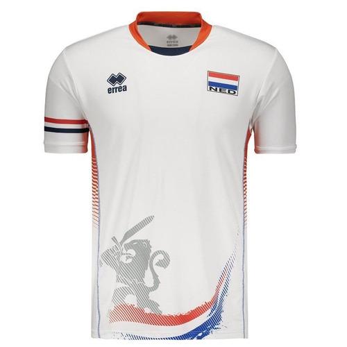 camisa errea holanda vôlei third 2017