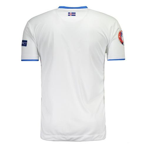 Camisa Errea Islândia Away 2017 Euro Matchday - R  167 f27a87e4ed394