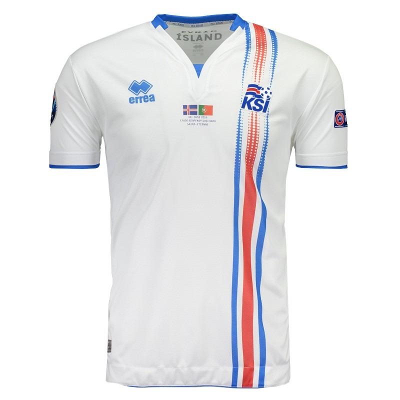 camisa errea islândia away 2017 euro matchday. Carregando zoom. 85073b866a58f