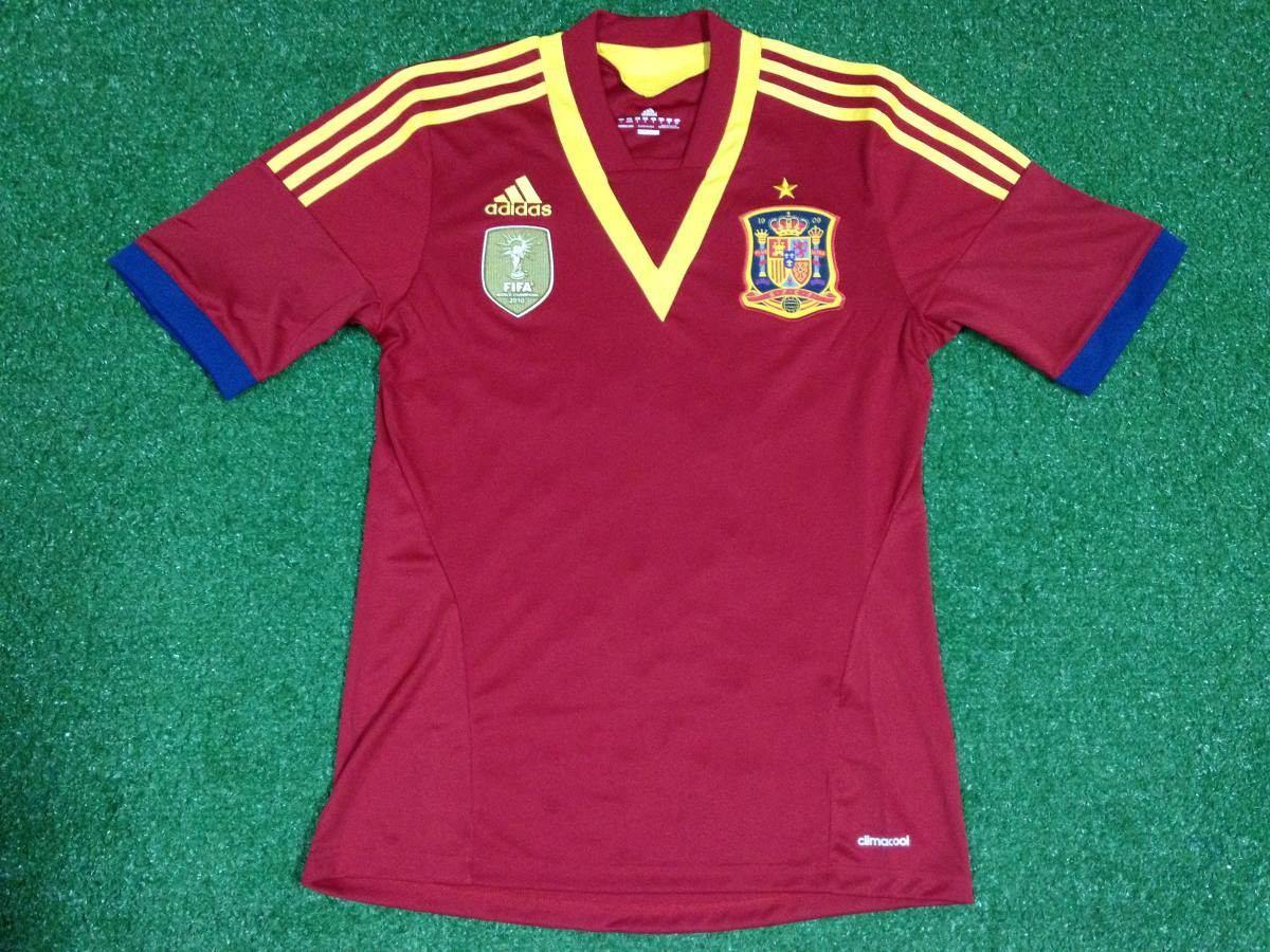 camisa espanha adidas euro 2012 polonia ucrania. Carregando zoom. 286940596b890