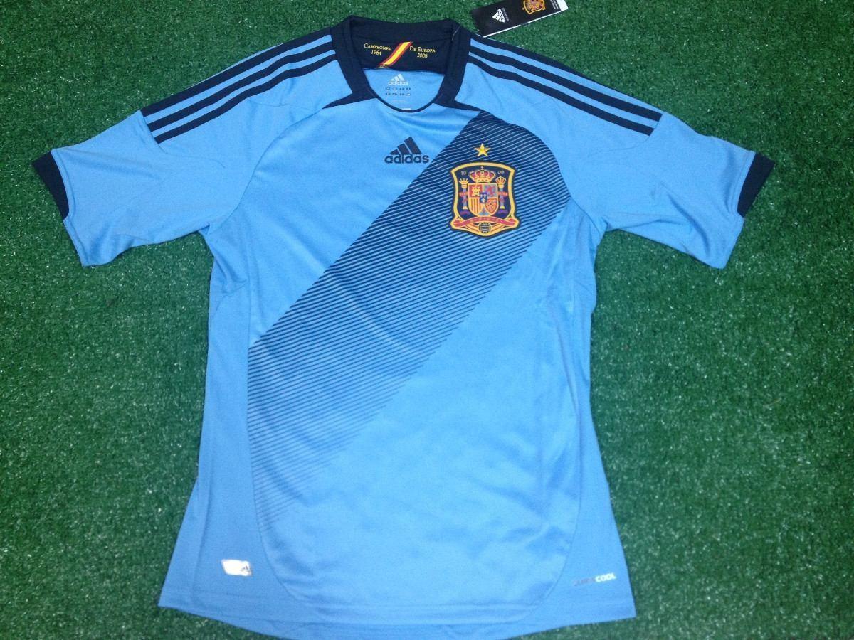 ab92168e4e1f6 camisa espanha goleiro adidas azul euro 2008 austria suica. Carregando zoom.