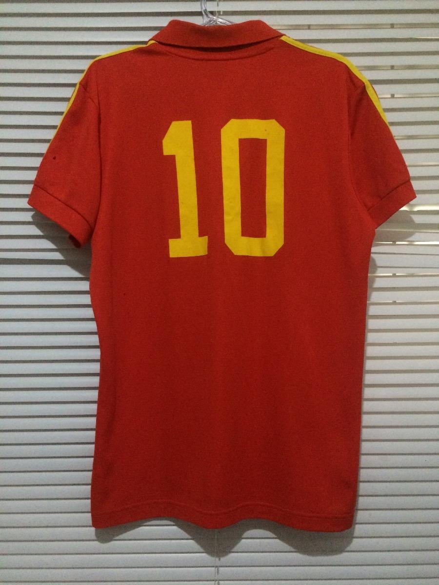 camisa espanha retrô adidas originals. Carregando zoom. 3c4dc9f6ce121