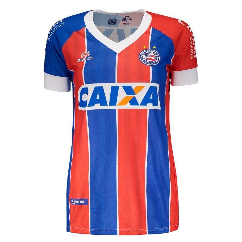 Camisa Esquadrão Bahia Ii 2018 Torcedor Feminina - R  104 561e2f846a590