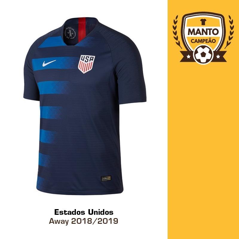 c0fbb5ae6 camisa estados unidos 2018 2019 away uniforme 2 pulisic wood. Carregando  zoom.