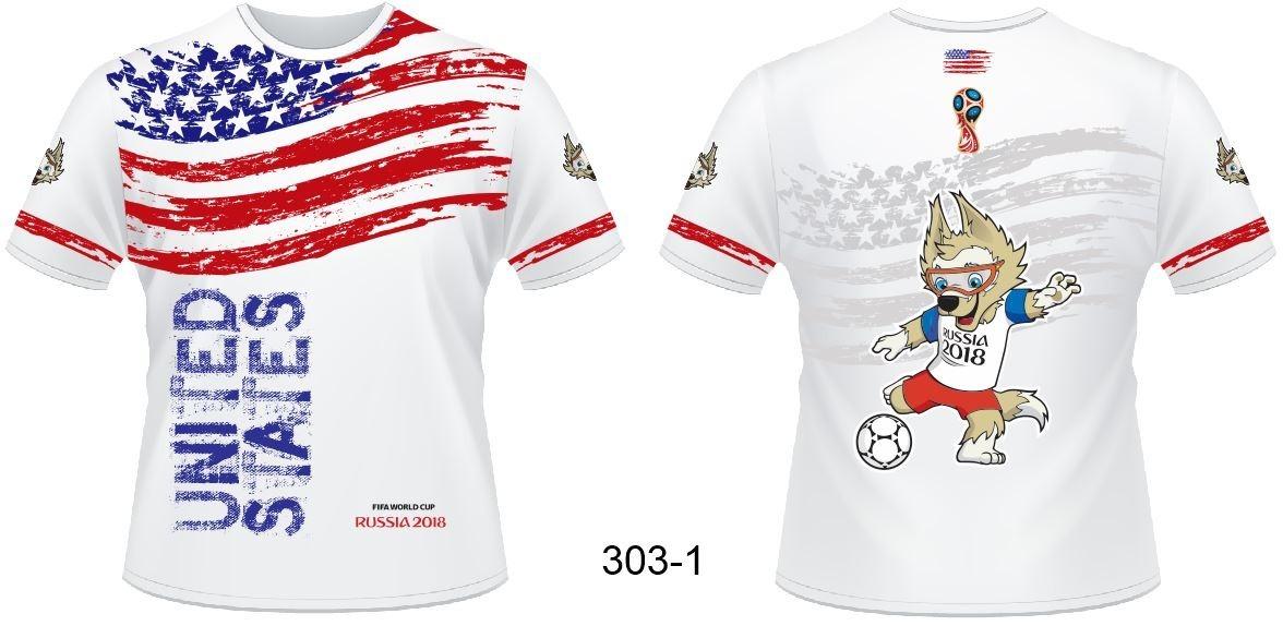 76a258b1e6b52 Camisa Estados Unidos Fifa Copa Russia 2018 303-1 - R  60