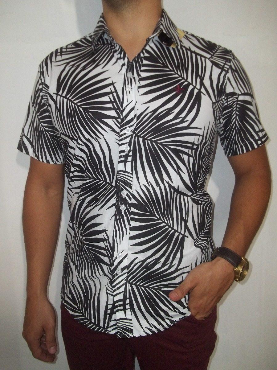 364c157465185 camisa estampa masculina slim social casual floral 010. Carregando zoom.