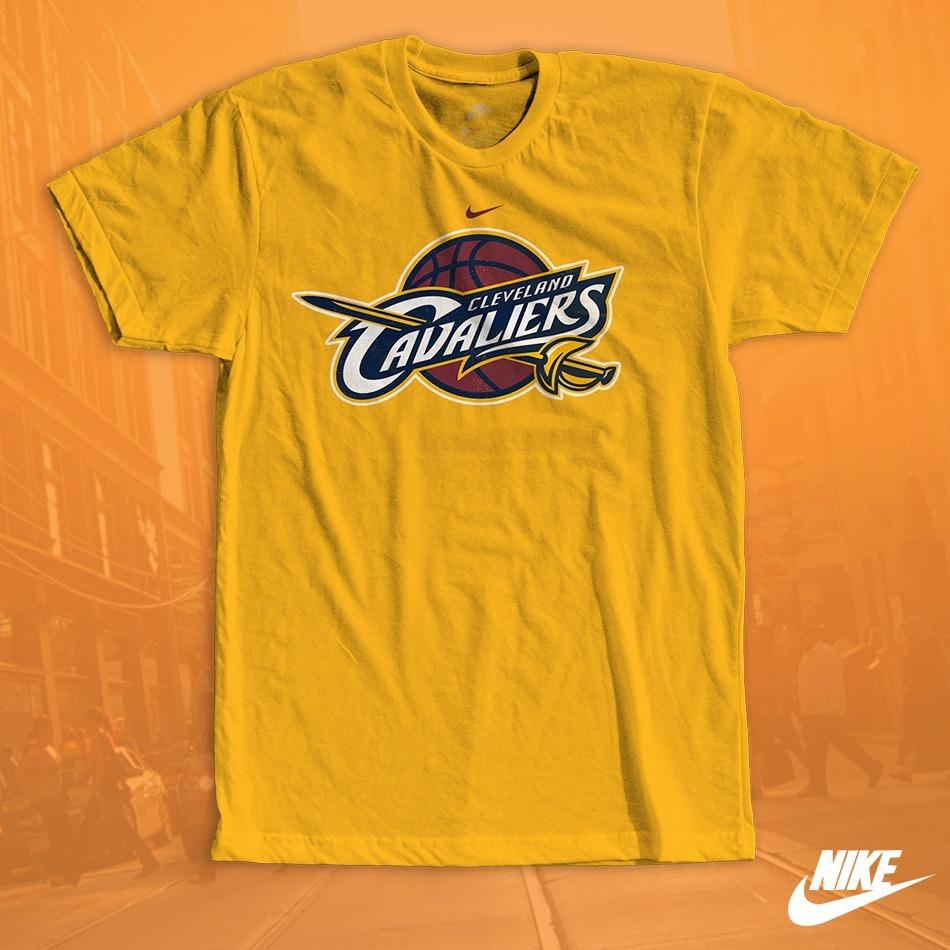 a6ee7d4210e Camisa Estampada Cleveland Cavaliers Nba Nike Aaa -   29.999 en ...