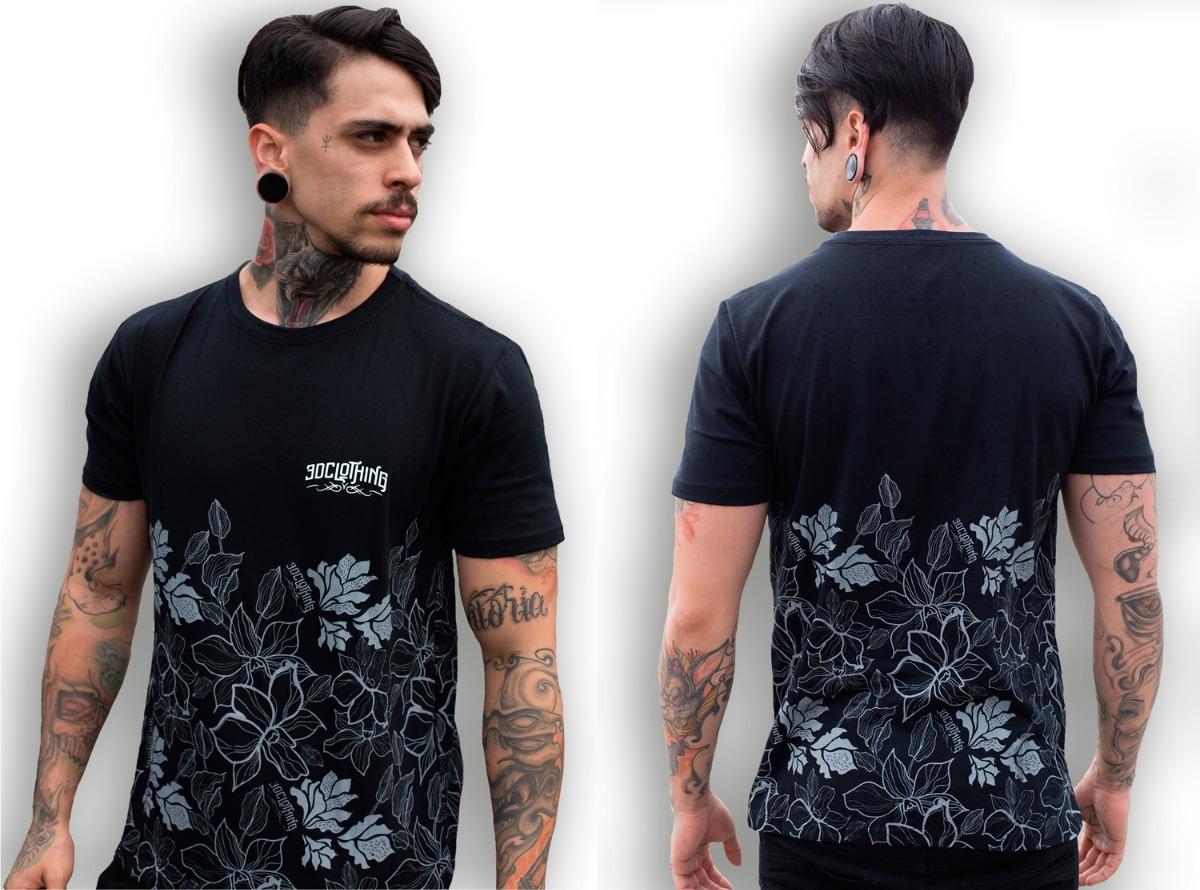 292e4b9340 camisa estampada floral florida camiseta masculina flores. Carregando zoom.