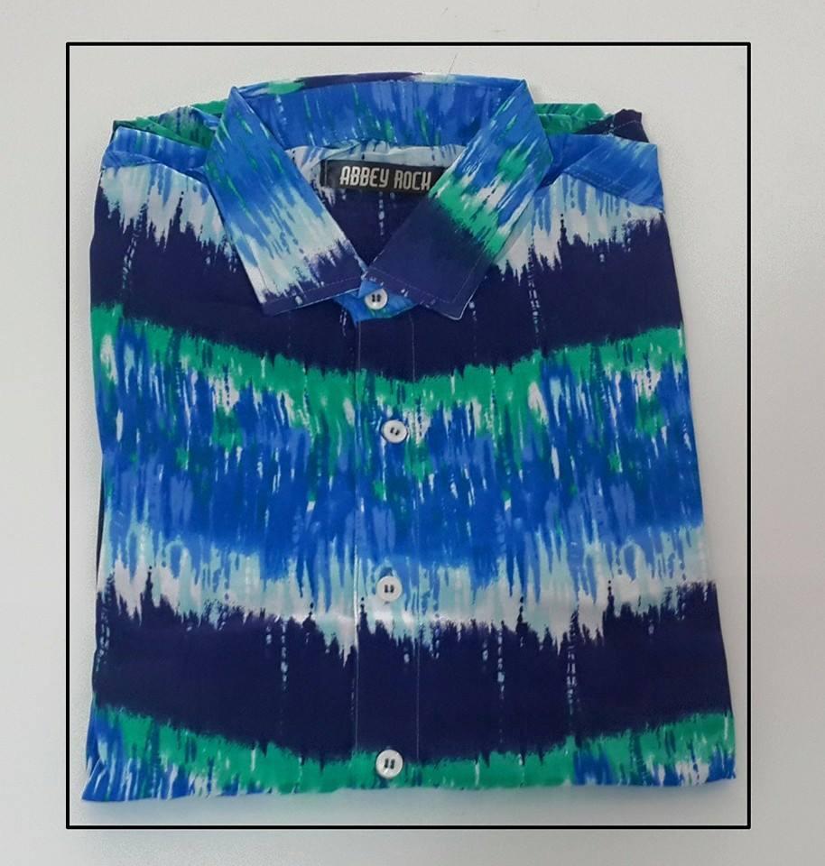c77a70b1a camisa estampada hombre promo por 2 unidades. Cargando zoom.