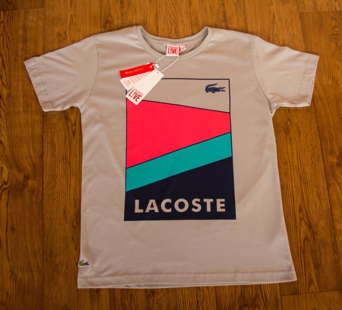 1c2ee1779057d camisa estampada lacoste peruanas originais promoção 3unidad. Carregando  zoom.