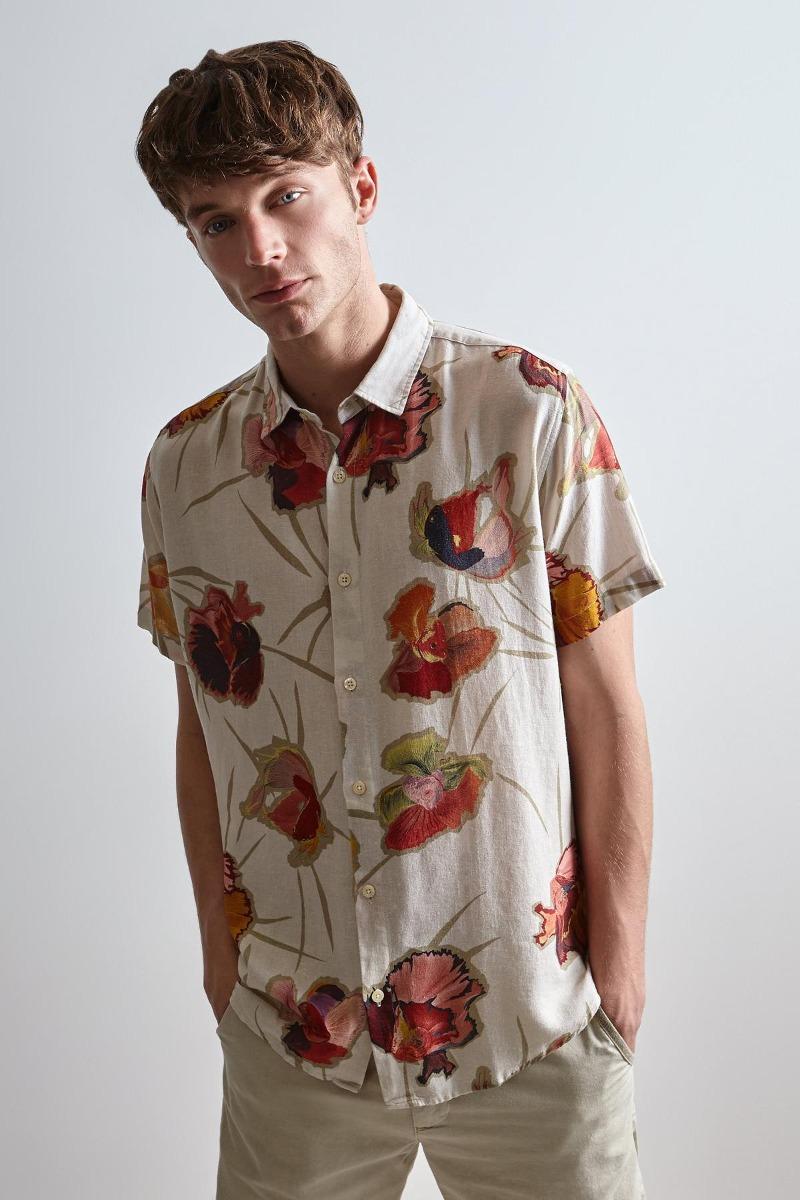 e8cd03537ea camisa estampada mc floral beta reserva. Carregando zoom.