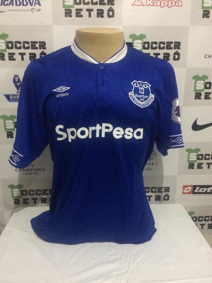 721cb7d9f9eb9 Camisa Everton 2018-19 Richarlison 30 Premier League - R$ 199,00 em ...