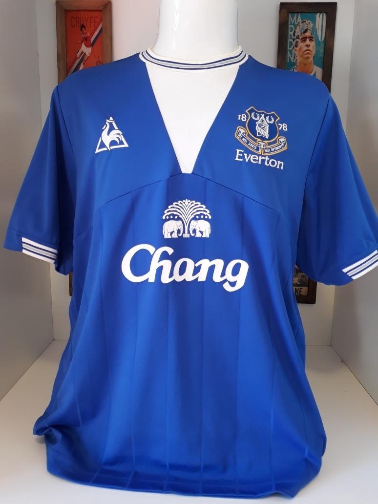 7dcd36da1b Camisa Everton Le Coq Sportif - R$ 135,00 em Mercado Livre