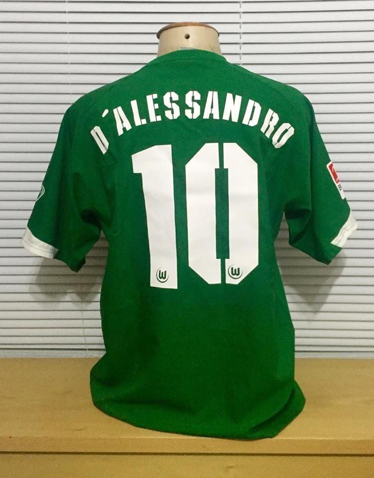 Camisa Ex Inter  10 D alessandro Do Wolfsburg - R  350 85d347ebfc6db