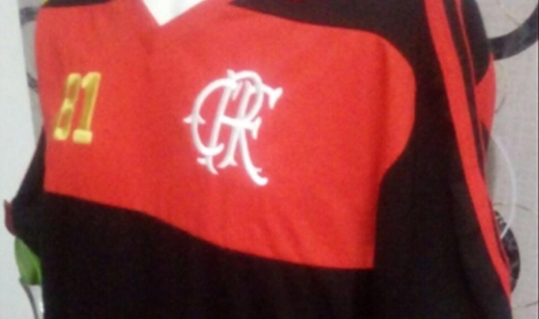 baa2b46773 camisa exclusiva retro comemorativa flamengo 81 promocao. Carregando zoom.