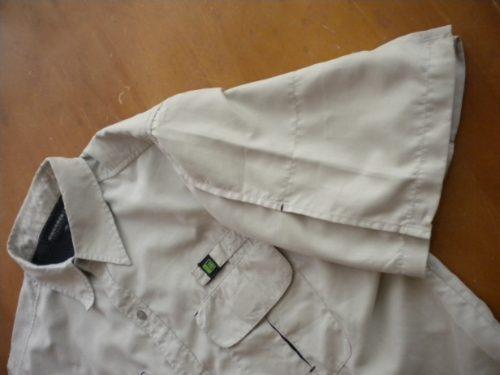 camisa exploradora  m  pequeño detalle tela super suave