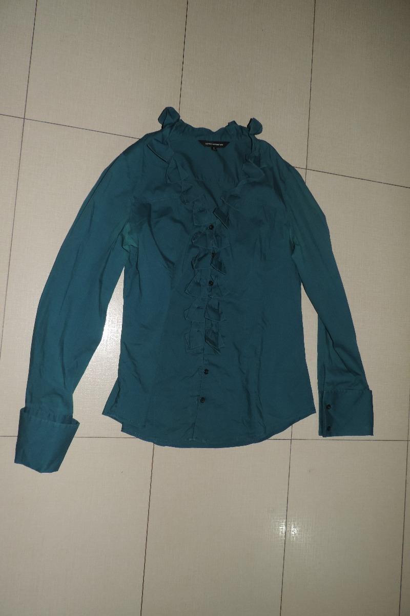Camisa Express Design Studio Talla M Verde Demanga Larga Bs 0 50 En Mercado Libre
