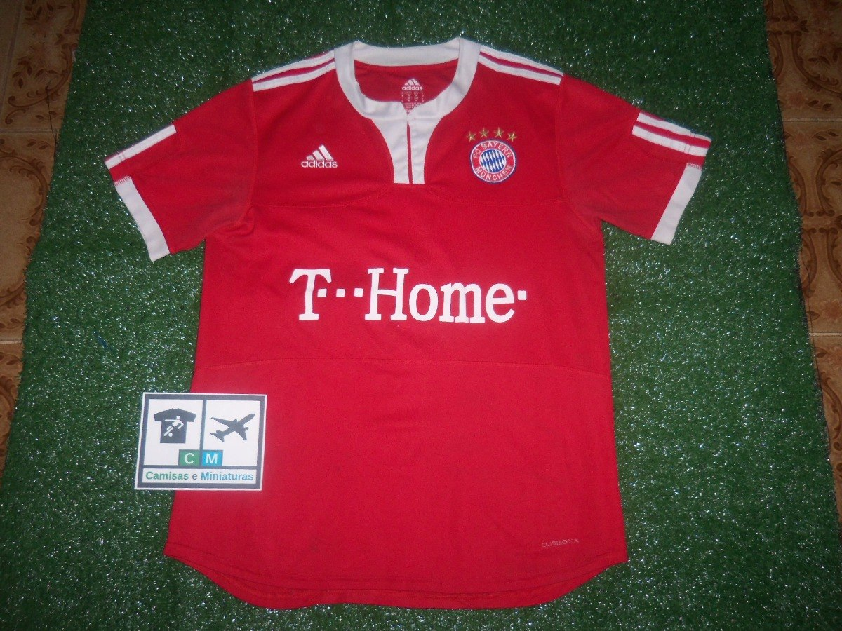717245950bb38 camisa f. c. bayern munchen munique 2009-2010 adidas home  9. Carregando  zoom.