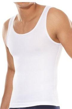 camisa faja reductora moldeadora esqueleto gym hombre geordi