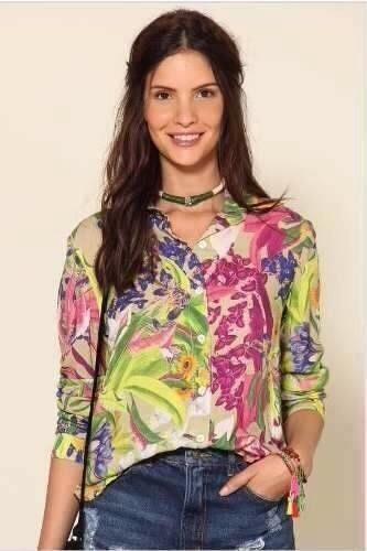 camisa felizita farm
