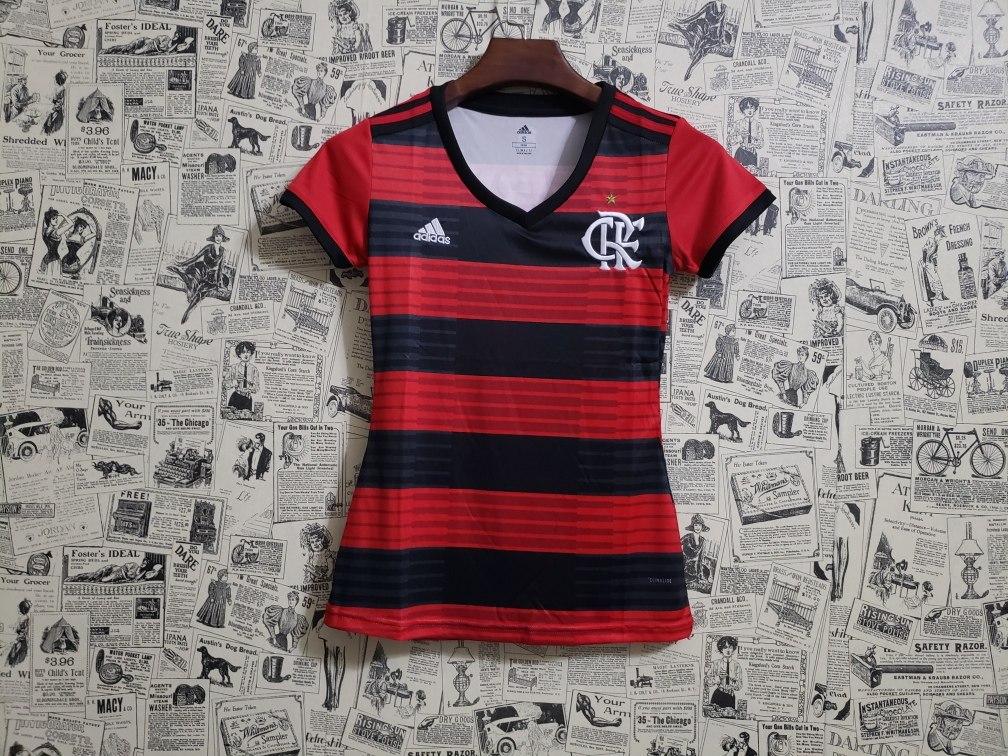b5791a2017 Camisa Feminina adidas Flamengo 2018/2019 Oficial - R$ 130,00 em ...
