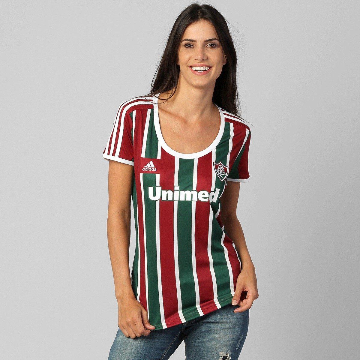 0b94ea2af8 Camisa Feminina adidas Fluminense 1 - 2014 De 199