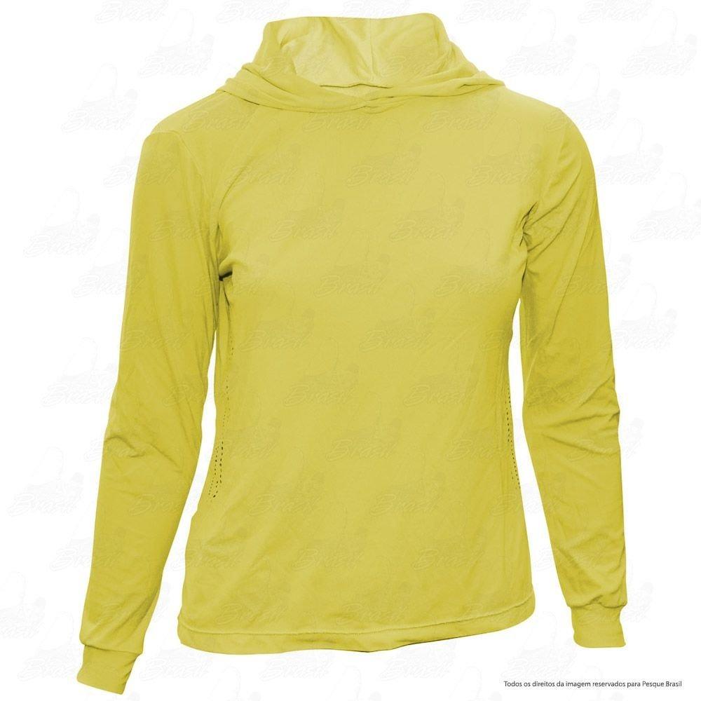 camisa feminina ballyhoo com capuz proteção solar filtro uv. Carregando  zoom. 81fb5bbe595