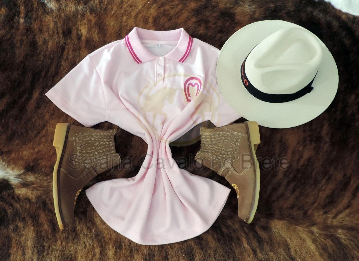 a4f3ade94dfaa camisa feminina + bota mangalarga e chapeu country oferta. Carregando zoom.