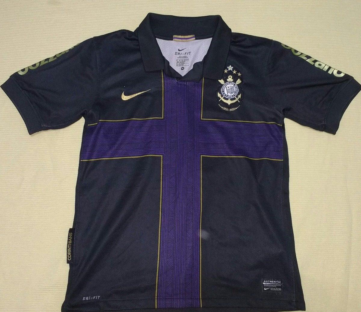 4131c03fd2 Camisa Feminina Corinthians 100% Orig Nike Centenário - 26 - R  200 ...
