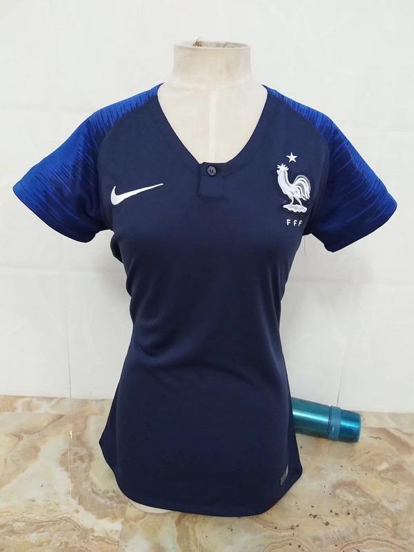 camisa feminina da frança - frete e personalização grátis. Carregando zoom. 07d60efb37ed2