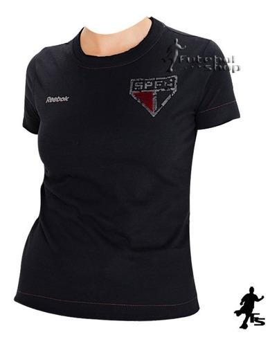 camisa feminina do spfc desgastada - sp96035v