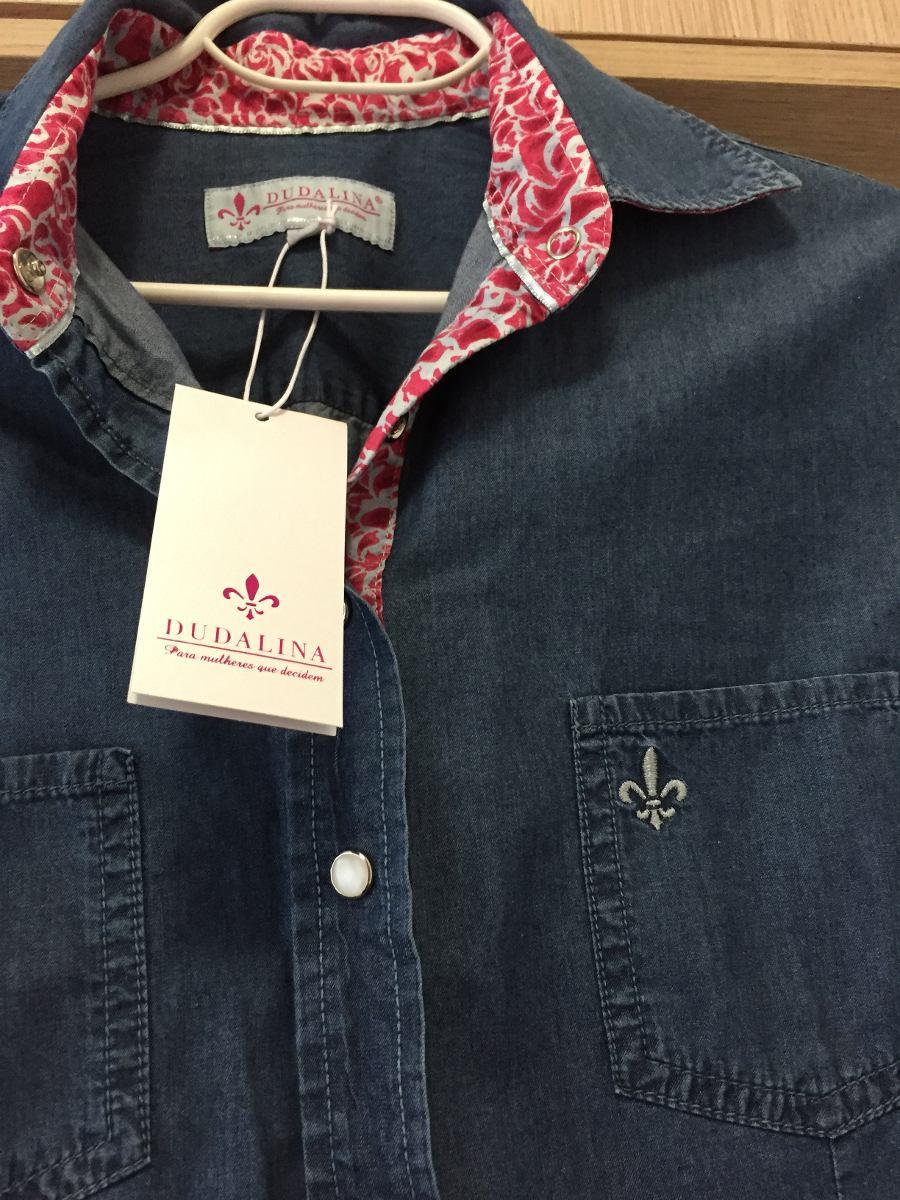 6704a959ea camisa feminina dudalina original tam 40. Carregando zoom.