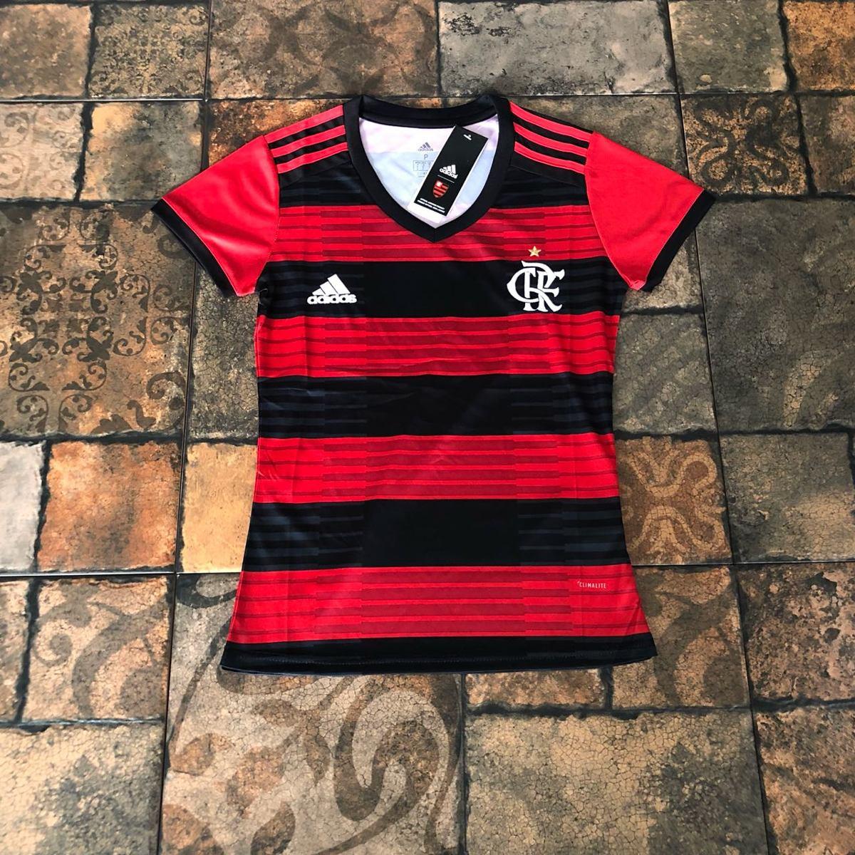 5a4c040074 Características. Marca flamengo  Time Flamengo  Tipo de camisa feminina ...